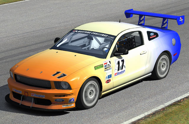 Mustang FR500S sur Mid-Ohio
