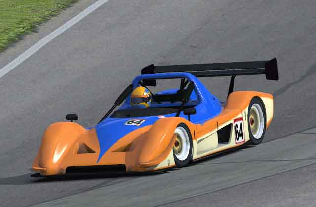 RADICAL SR8 - iRacing - Simulation automobile - Court-Circuit Team