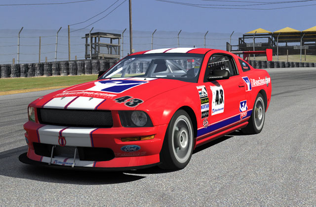 iRacing : Mustang FR500S sur Mid-Ohio