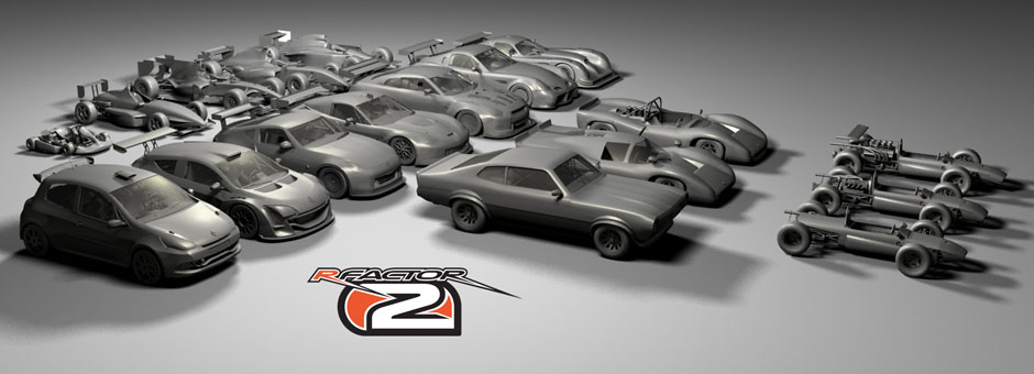 rFactor 2 : Car Model Renders